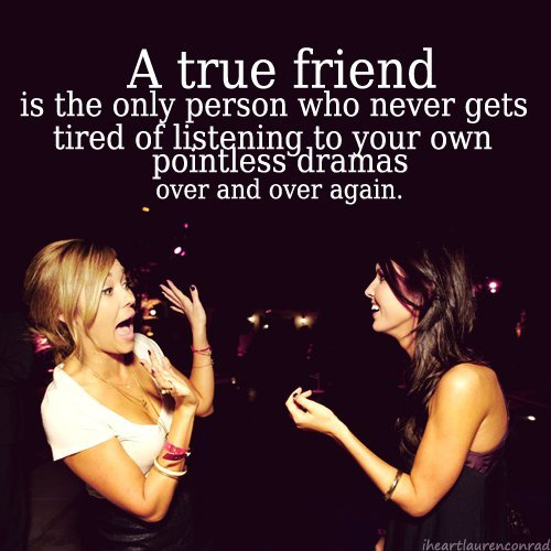 friends drama