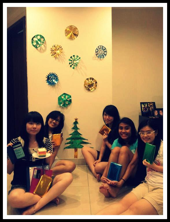 the girls and their presents