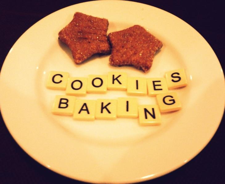 cookies baking! edited