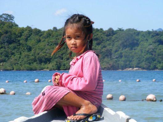brave little girl