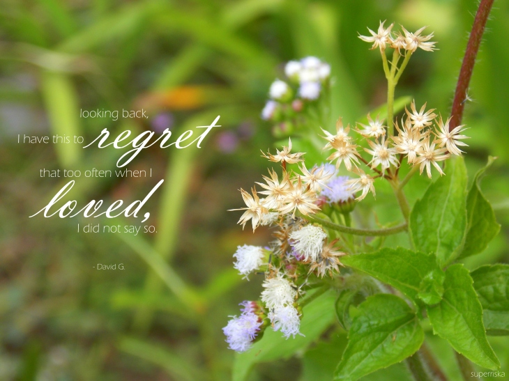 love regret