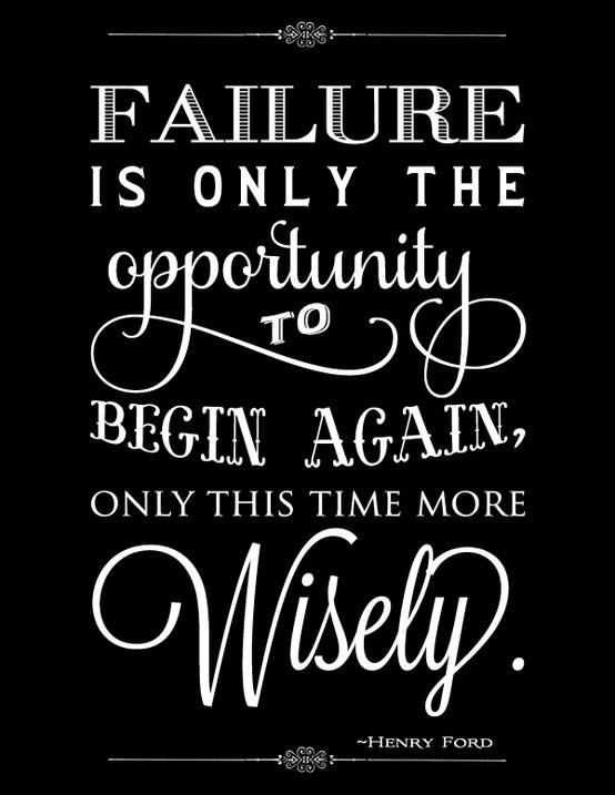 Inspirational Quotes About Failure: Life Lesson A-Z: Failure.